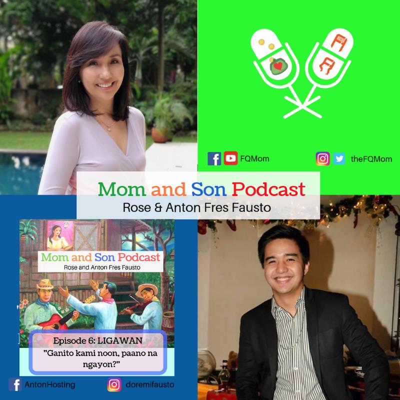 Mom and Son Podcast Episode 6: (LIGAWAN – GANITO KAMI NOON, PAANO NA NGAYON?)