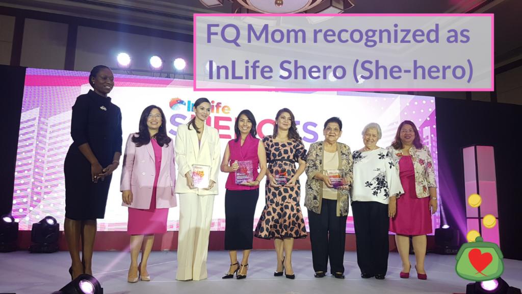 FQ Mom recognized as InLife Shero (She-hero)