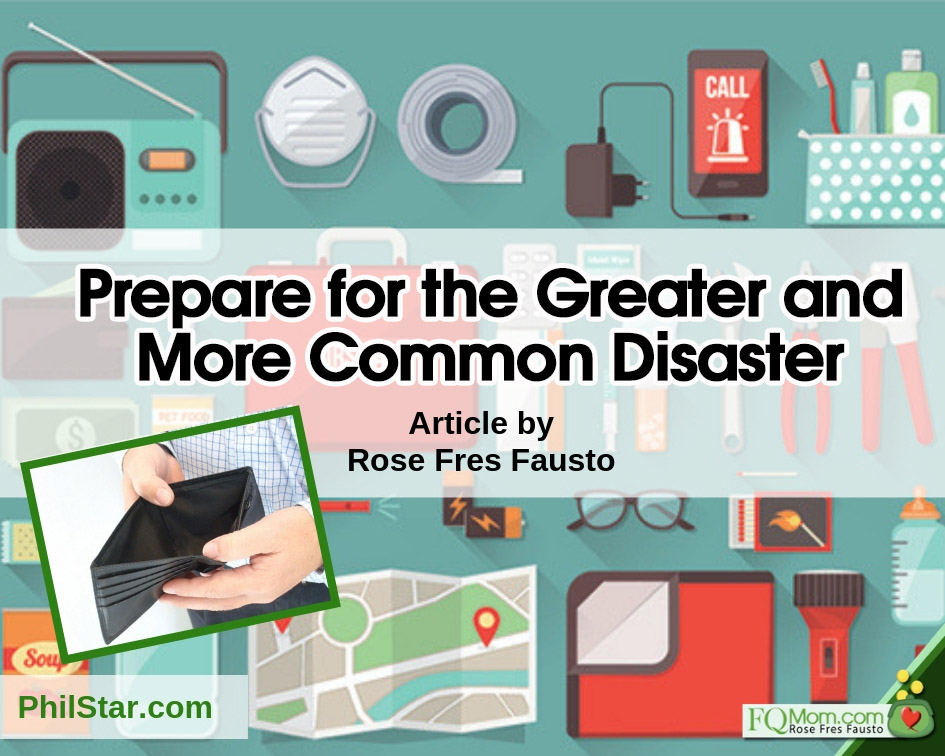 Prepare for the Greater and More Common Disaster