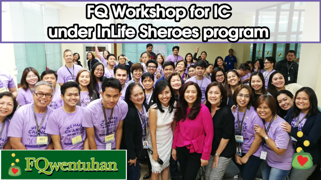 FQ Workshop for the Insurance Commission under the InLife Sheroes Program