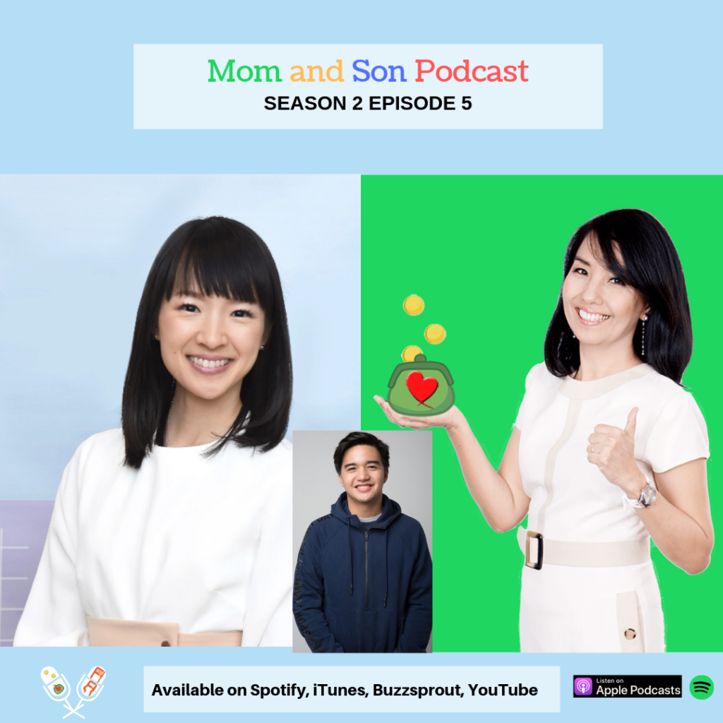 Mom and Son Podcast – Season 2 Episode 5 (DECLUTTERING: MARIE KONDO x FQ MOM STYLE)