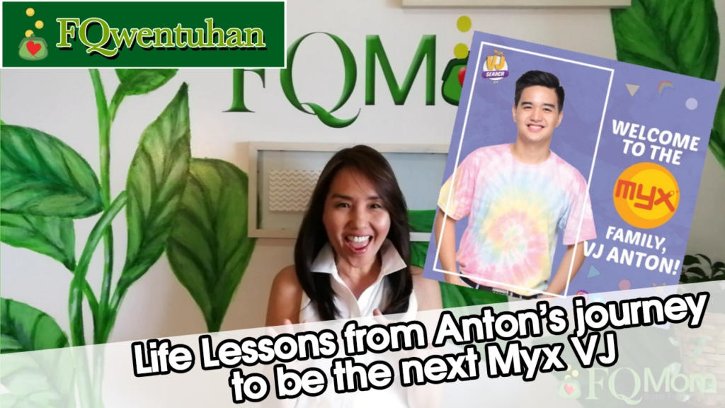 Life Lessons from Anton's journey to be the next Myx VJ