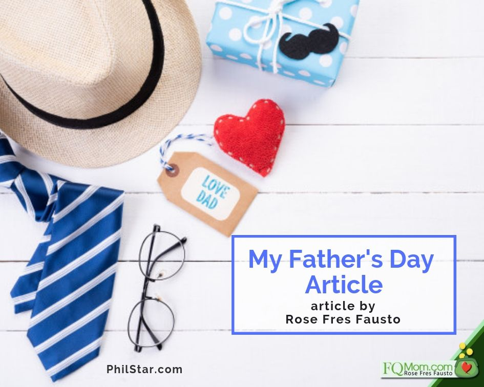 My Father's Day Article