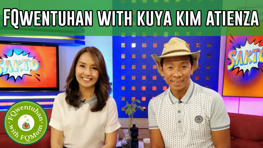 FQwentuhan with Kuya Kim Atienza