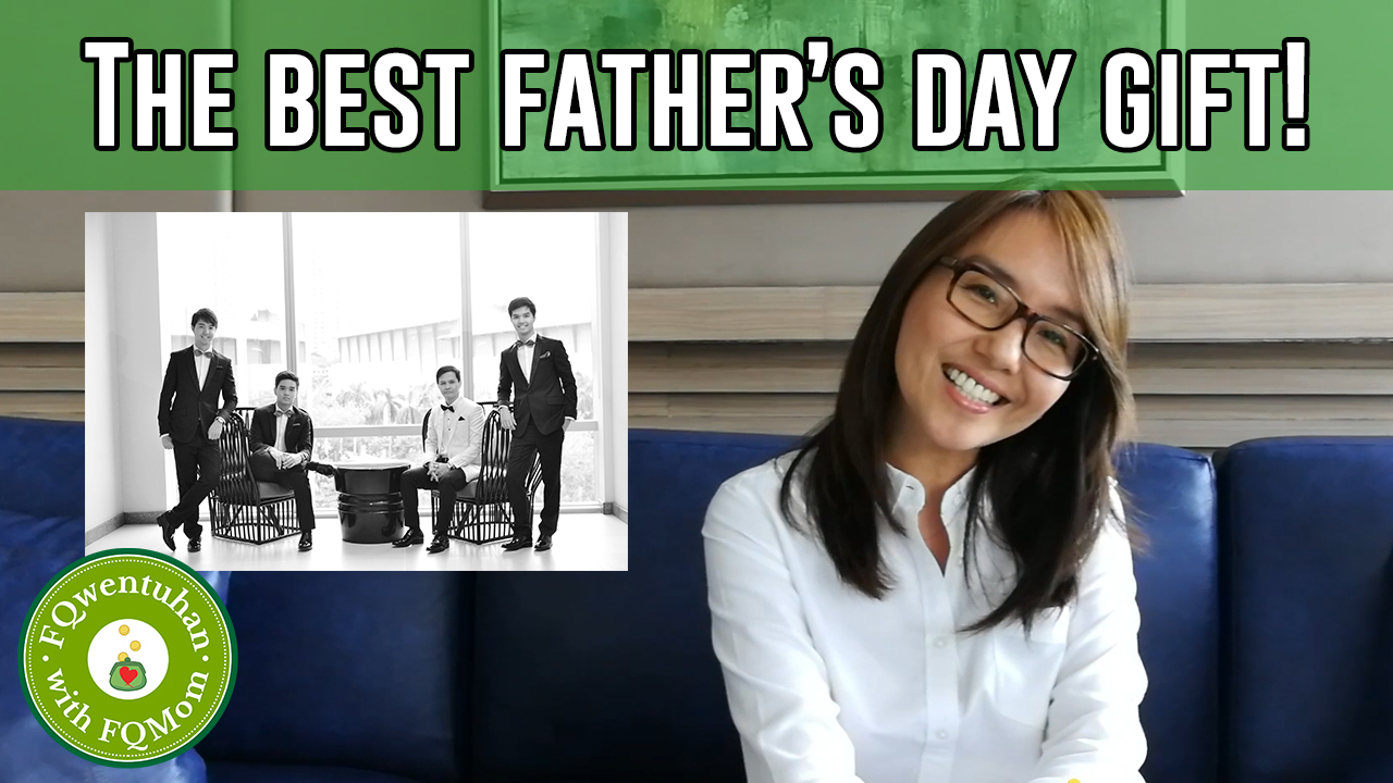FQwentuhan: The Best Father's Day Gift!