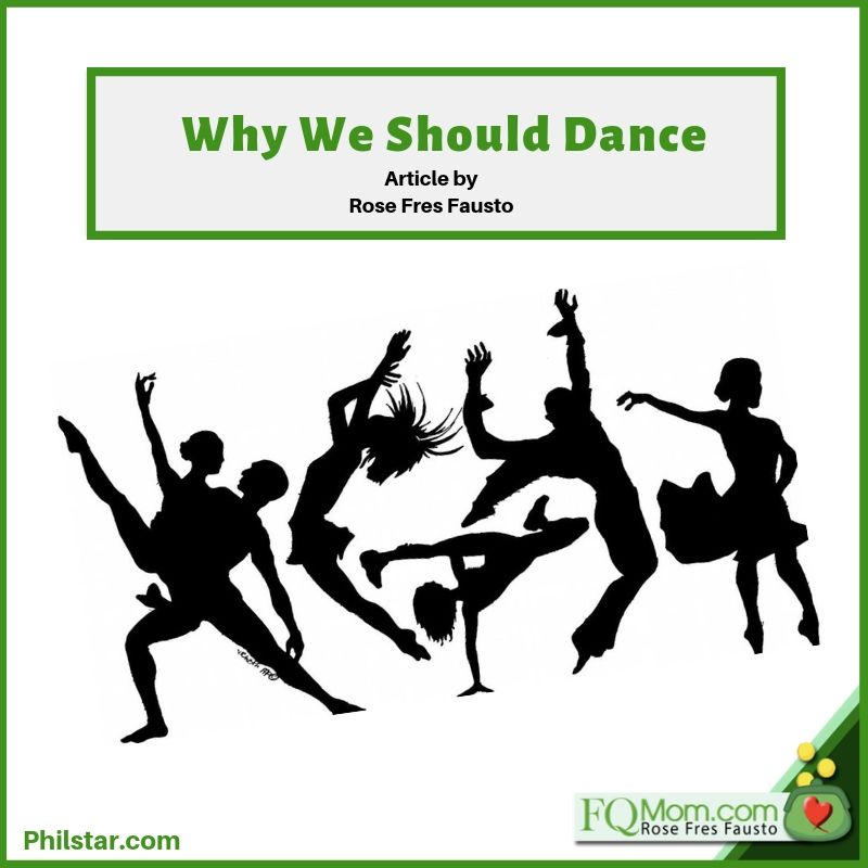 Why we should dance