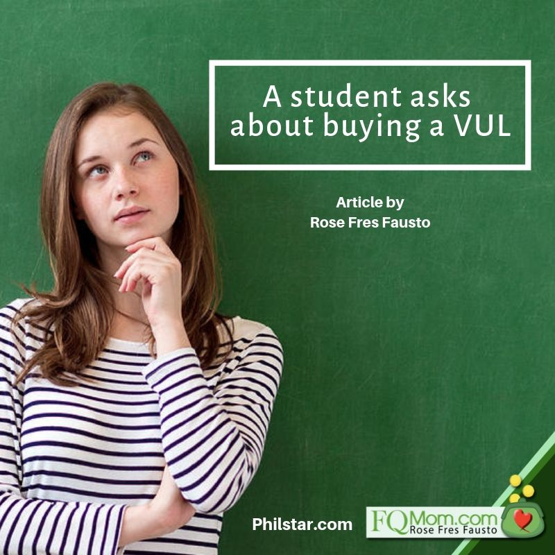 A student asks about buying a VUL