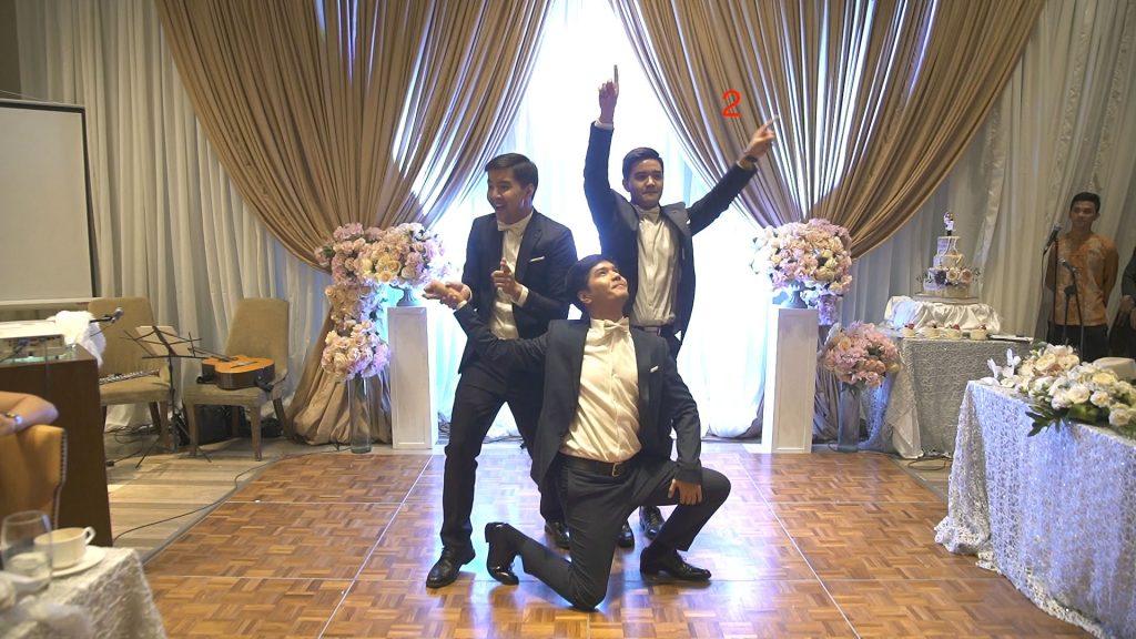 Fausto Brothers' 1930s inspired dance #ILoveWeddings