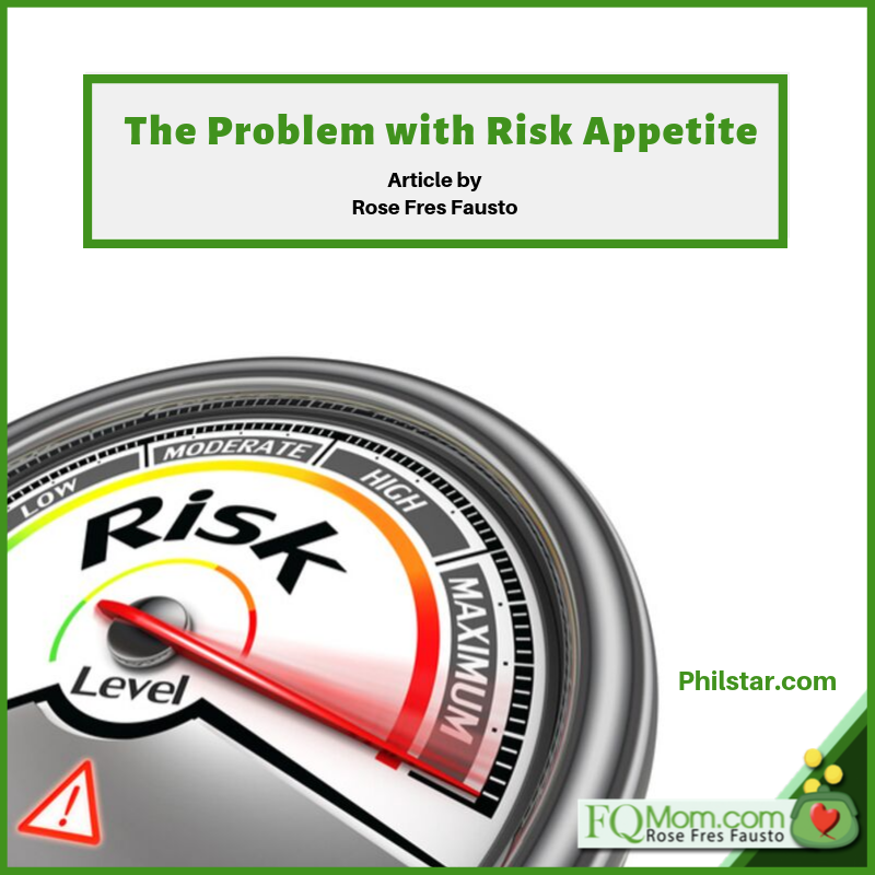 The problem with Risk Appetite