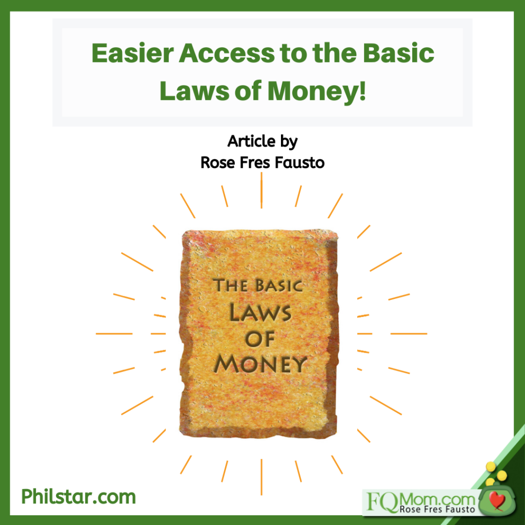 Easier Access to the Basic Laws of Money!