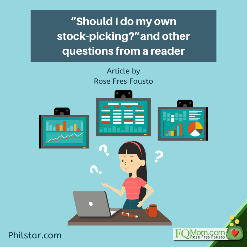 """""""Should I do my own stock-picking?"""" and other questions from a reader"""