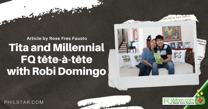 Tita & Millennial FQ tête-à-tête with Robi D.