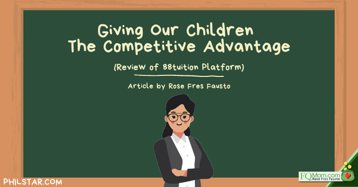 Giving Our Children The Competitive Advantage (Review of 88tuition Platform)