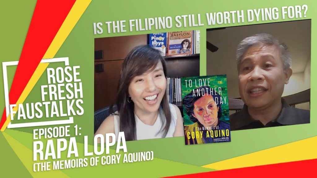 "Rose Fresh FausTalks with Rapa Lopa: ""Is the Filipino still worth dying for?"""