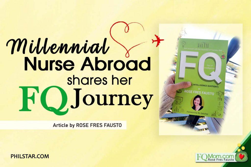 Millennial Nurse Abroad Shares Her FQ Journey