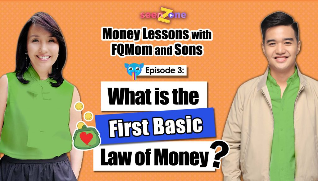 KUMU Episode 3: The First Basic Law of Money | MONEY LESSONS WITH FQ MOM AND SONS