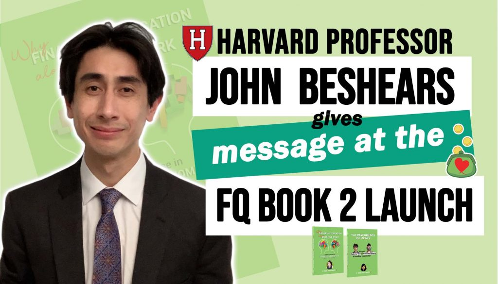 Harvard Professor John Beshears Message at the FQ Book 2 Launch