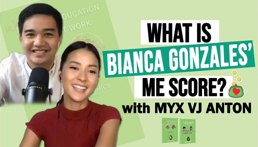 What is Bianca Gonzales' ME Score?
