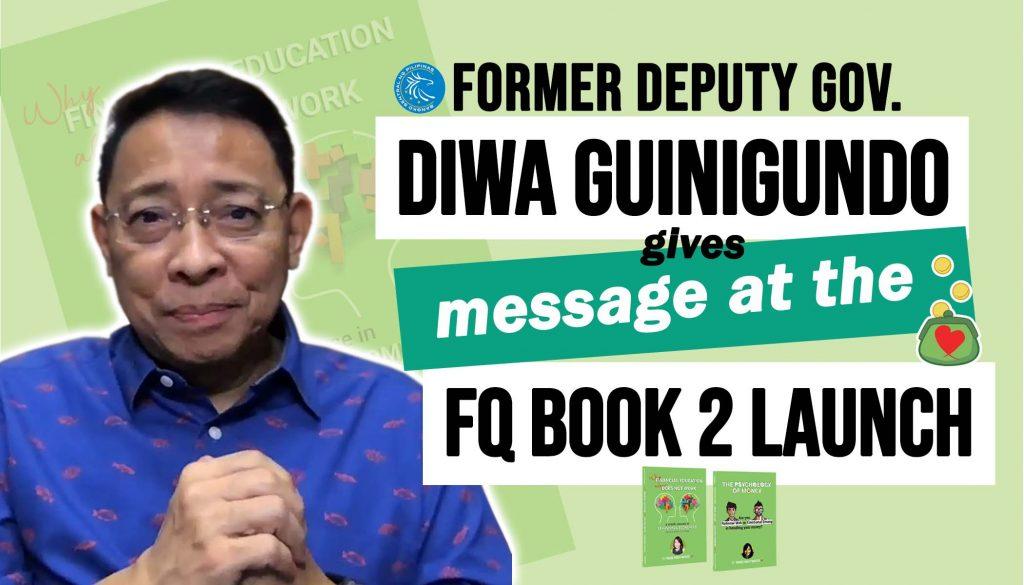 Former Deputy Governor Diwa Guinigundo on FQ Book 2