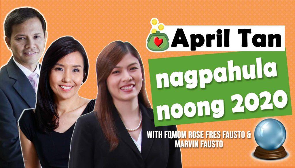 April Tan nagpahula nong 2020