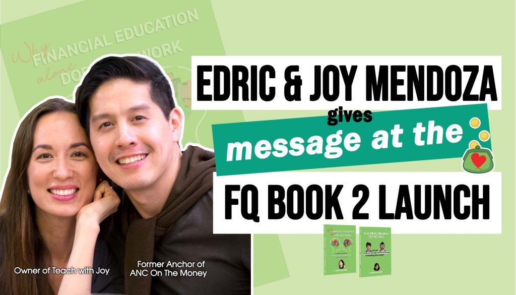 Former anchor of ANC Edric Mendoza and wife Joy Mendoza on FQ Book 2