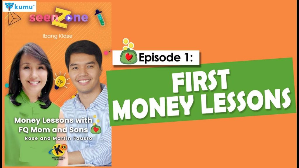 MONEY LESSONS WITH FQ MOM AND SONS (Kumu Episode 1: First Money Lessons)