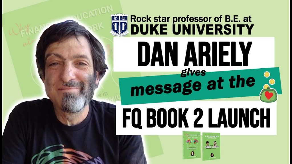 Dan Ariely greets FQMom on her FQ Book 2 Launch