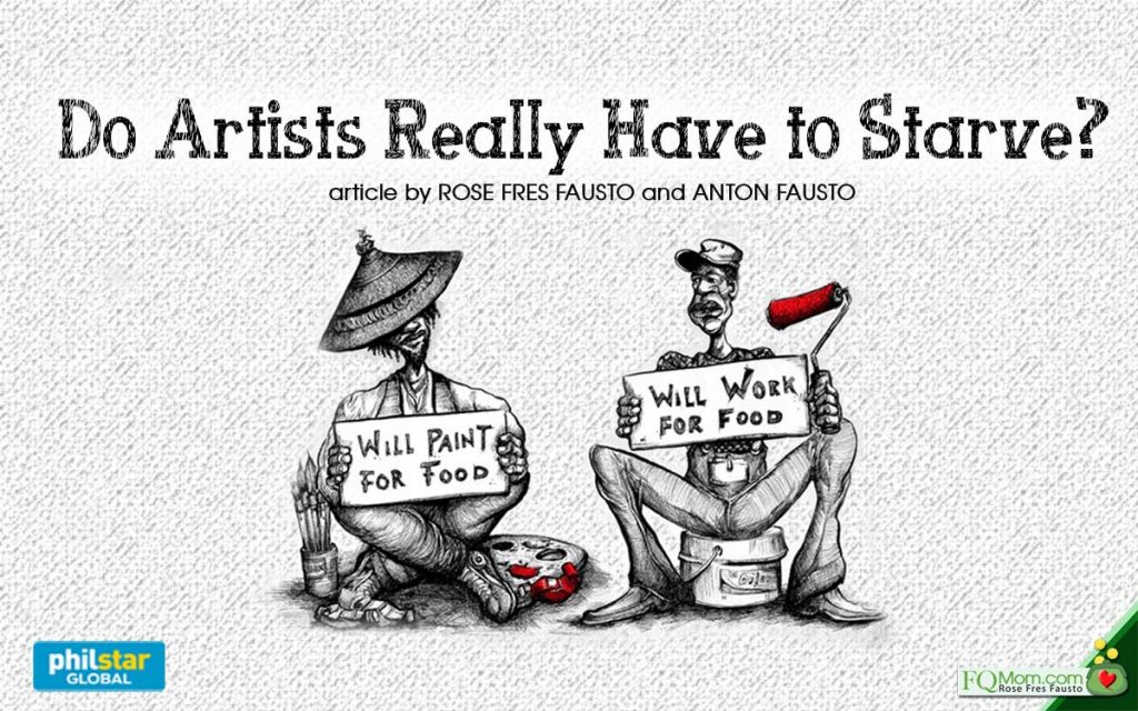 Do Artists Really Have to Starve?