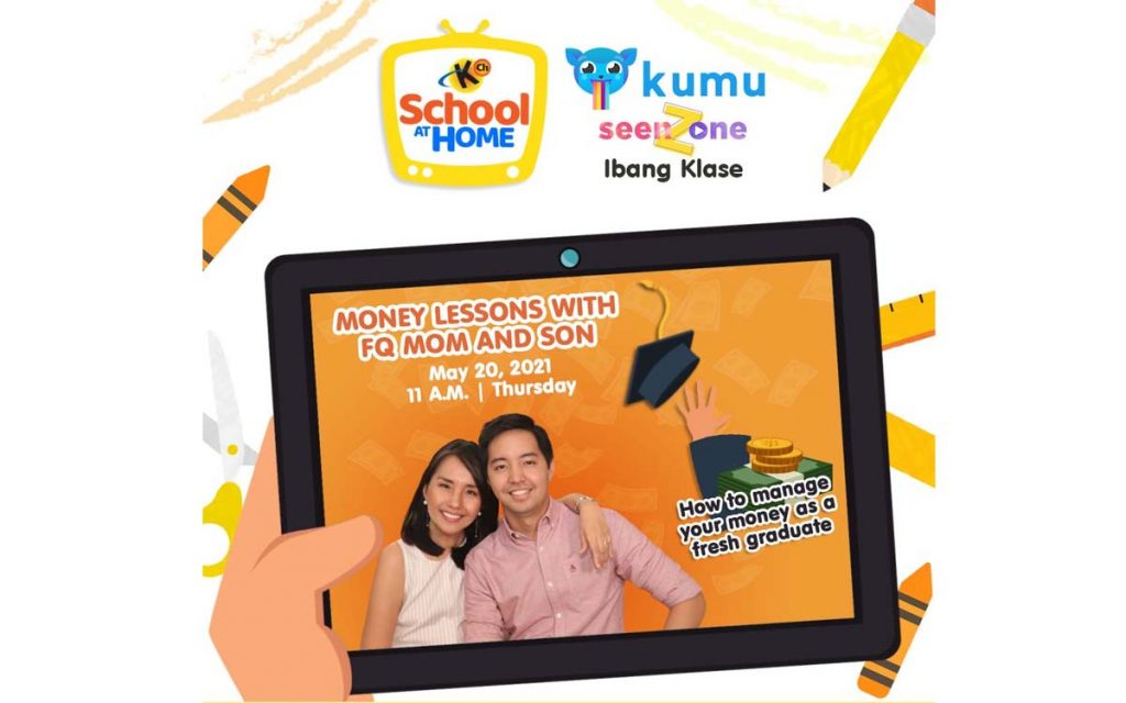 KUMU Episode 11: How to Manage Money for Fresh Graduates?   MONEY LESSONS WITH FQ MOM AND SONS