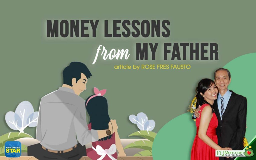 Money Lessons From My Father