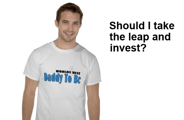Daddy-To-Be Asks About Investing