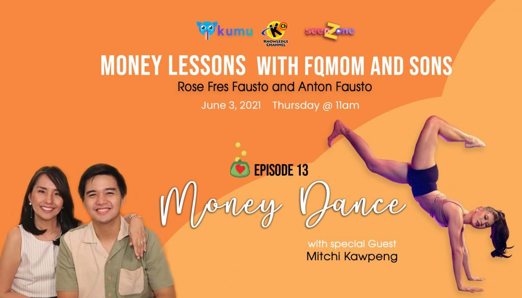 KUMU Episode 13: Money Dance | MONEY LESSONS WITH FQ MOM AND SONS