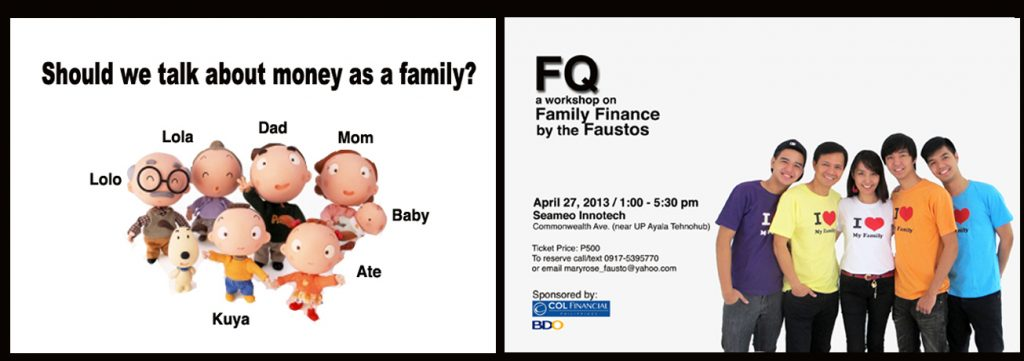 DOES YOUR FAMILY TALK ABOUT MONEY?
