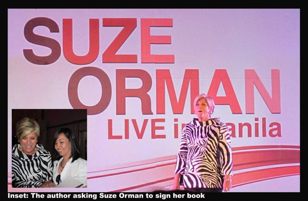 SUZE ORMAN'S MONEY TALK IN MANILA