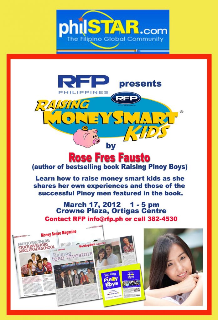 RAISING MONEY SMART KIDS (PhilStar.com)