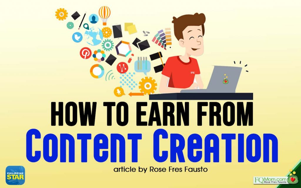 How to earn from Content Creation