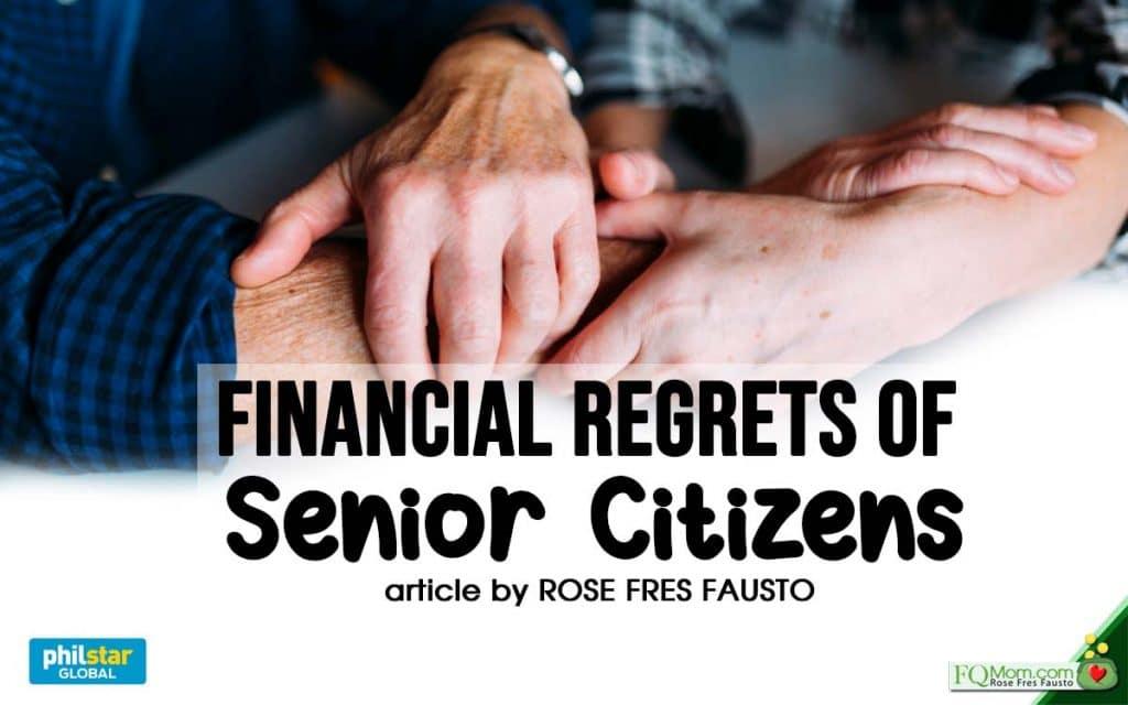 Financial Regrets of Senior Citizens