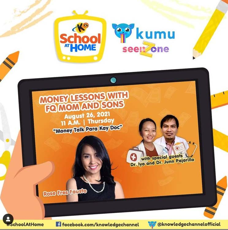 Ep. 25: Money Talk para kay Doc   MONEY LESSONS WITH FQ MOM AND SONS