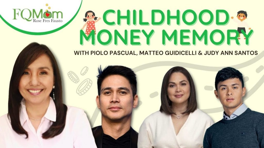 Childhood Money Memory Stories with Piolo Pascual, Judy Ann Santos and Matteo Guidicelli