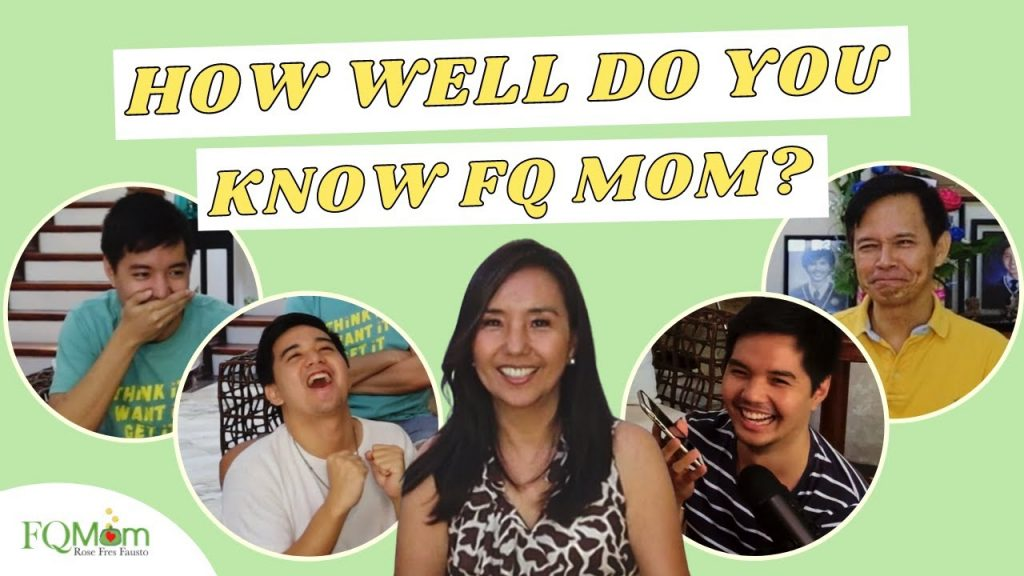 HOW WELL DO YOU KNOW FQ MOM CHALLENGE with the FAUSTO FAMILY