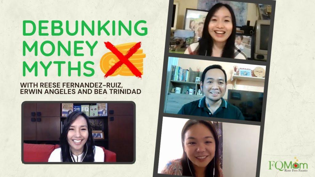 DEBUNKING MONEY MYTHS with Reese Fernandez-Ruiz, Erwin Angeles and Bea Trinidad
