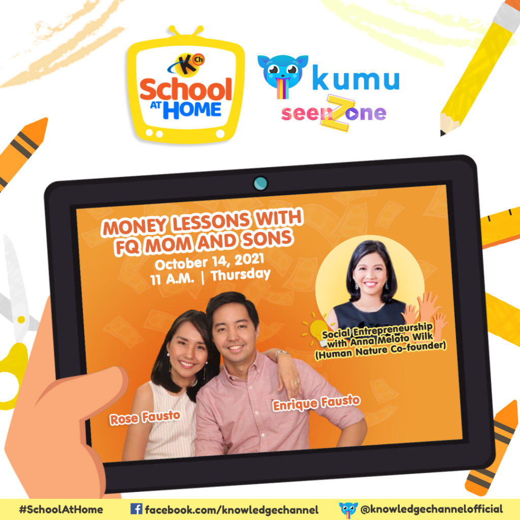 Ep. 32: Social Entrepreneurship   Money Lessons with FQMom and Sons