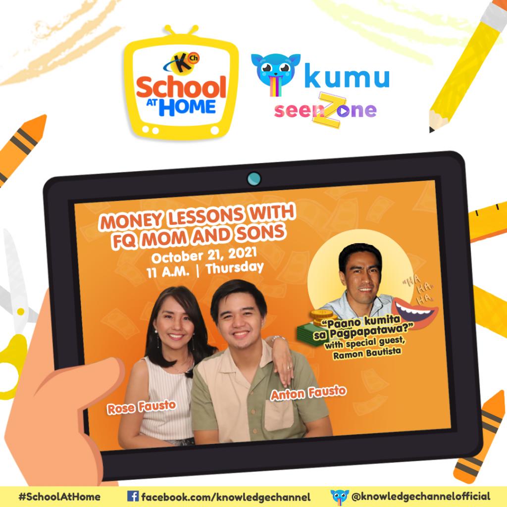 Ep.33: Paano Kumita Ng Pera Sa Pagpapatawa?   Money Lessons with FQMom and Sons